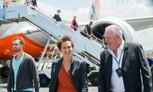Đại diện Qantas Airways đến thăm và làm việc với vemaybay.com.vn